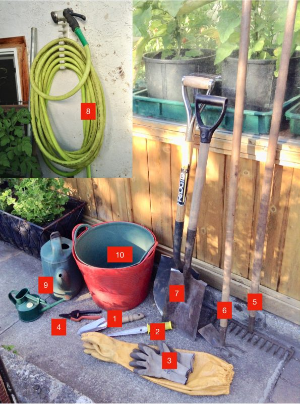 10 Most Useful Gardening Tools