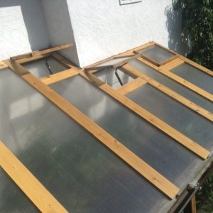 1000 words: Greenhouse Roof Renovation