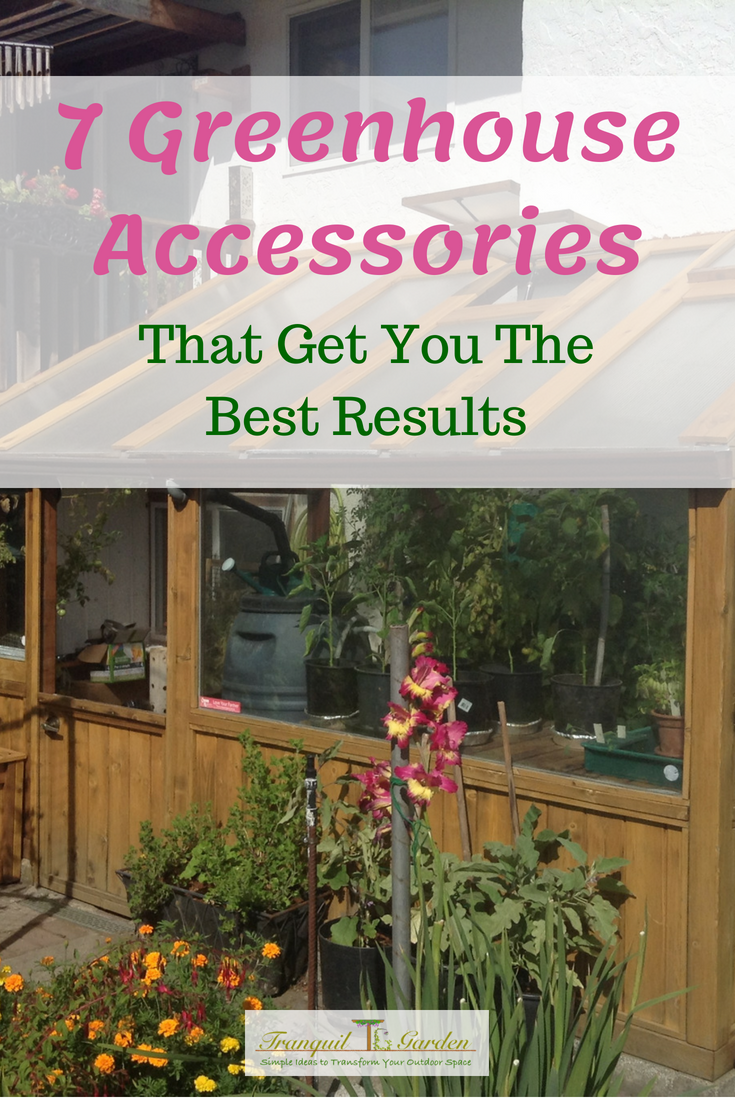 The right greenhouse accessories and features can help you achieve better results. Learn what you need to add to your greenhouse to maximize it's potential.