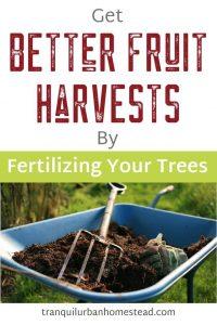 Fruit Tree Fertilizer