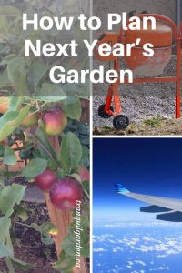 How to Plan Next Year's Garden - Winter is a great time to sit indoors and dream of next year's garden and plan it out.