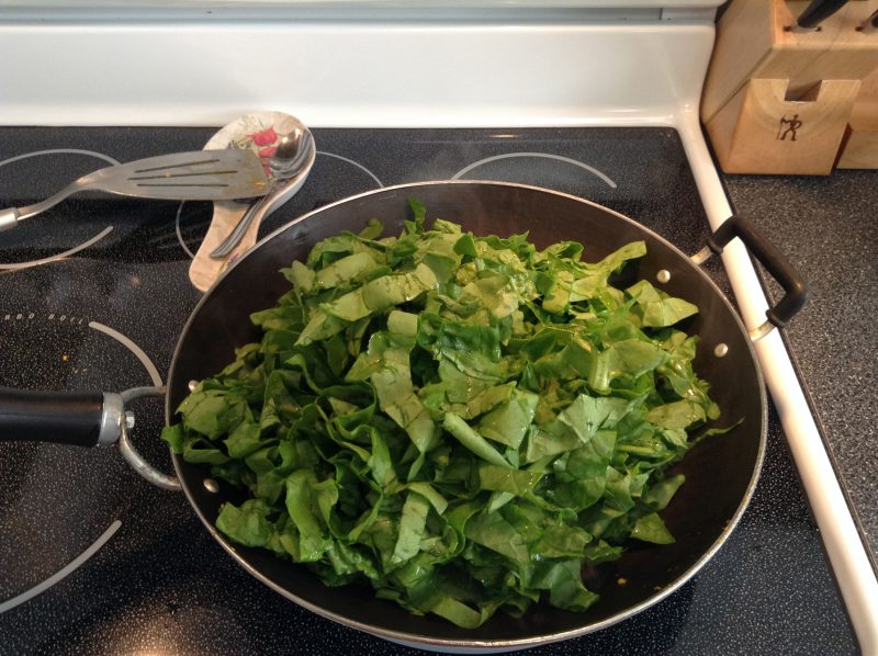 Quick Tip: Using Vegetable Greens