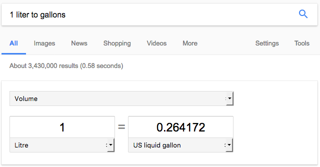 convert unit measurements - liquid conversion