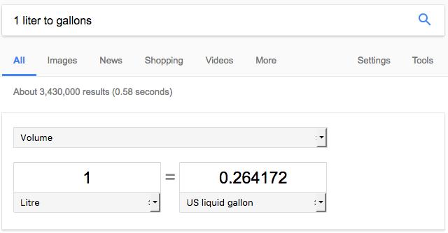 convert unit measurements - liquid conversion