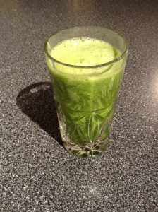 A Terrific Energy Boost to Start Your Day: Green Smoothie