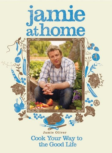 jamie at home - Cook Your Way to the Good Life by Jamie Oliver - This book is a combination of a recipe book and a vegetable gardening book. Each chapter introduces a food and then contains some recipes. The last page of each chapter then has a page or two where Jamie explains how he grows the food or purchases it (such as lamb or wild game). He also provides a list of his favourite vegetable varieties, seed suppliers and useful websites at the back of the book. This is my go-to book for recipes, especially his pizza crust recipe and shortcrust pie crust recipe. The recipes contain some additional info, not just the ingredients and steps. Photos show Jamie in his garden harvesting vegetables and preparing them for cooking.
