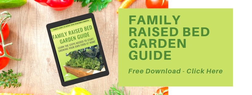 Family Raised Garden Bed Guide Banner