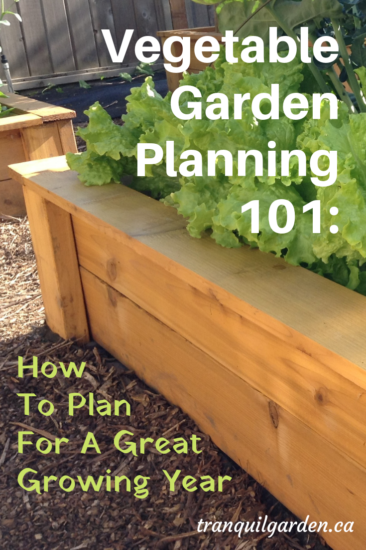 Vegetable garden planning is fun! Time to decide what vegetables you will grow, where they will be planted and when you need to do seeding & transplanting. #vegetablegarden #gardenplanning #vegetablegardenplanning
