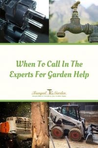 When To Call In The Experts For Garden Help - Learn how to know when you should call a professional o avoid personal injury, damage to your neighbour's property and your property and to avoid costly mistakes.