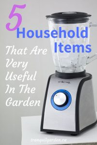 Kitchen blender with overlay text