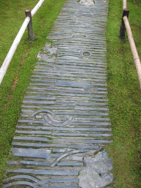 Japanese Garden Tile Path