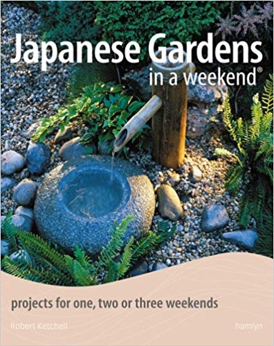 Book Review of Japanese Gardens in a Weekend. Add Japanese features to your outdoor space in easy projects that take one, two or three weekends to complete. Projects to add water features, screens, rocks, raked gardens, plants, walkways and small structures.