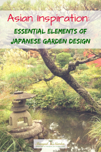 Asian Inspiration: Essential Elements Of Japanese Garden Design - Japanese gardens are made up of different design elements that work together to create a cohesive, inviting space with a zen-like Asian style. The combination of lanterns, pagodas, water features, islands, bridges, stepping stones, koi, trees such as pines and maples, ground cover, flowers and blossoms, borrowed scenery, bamboo, structures and walking paths create a natural-looking tranquil garden.