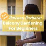 Balcony Barbara: Balcony Gardening For Beginners [Case Study]