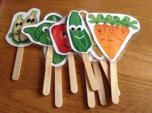 Fun plant labels