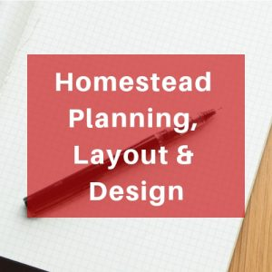 Homestead Planning, Layout & Design - Learn the best ways to layout your urban homestead for sustainable living. Design space for raised beds to grow vegetables and fruit, use square foot gardening to maximize crop yield and diversity, plant up front yards for food production and design a food forest. Plan out what tasks you need to do.