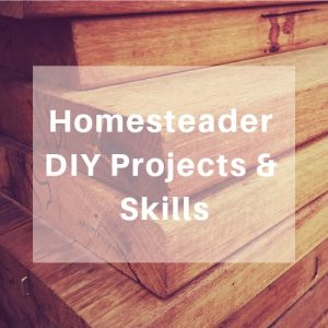 Homesteader DIY Projects & Skills - Learn how to make homemade projects for frugal living. Get life hacks and ideas. Generate your own energy so you can go off grid as much as you can. Teach your kids how to be more self sufficient.