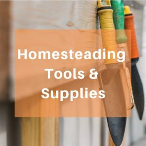 Homesteading Tools & Supplies - Get tips and ideas on what tools you need, how to use and maintain them and what supplies you need to keep stocked up. Find the products or learn how to make or how to build what you need for emergency preparedness, urban survival and off grid living at home.