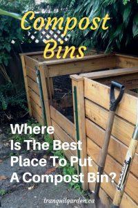 cedar compost bins