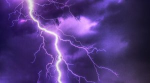 purple lightning flash