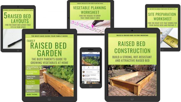 Family Raised Bed Garden Full Spread