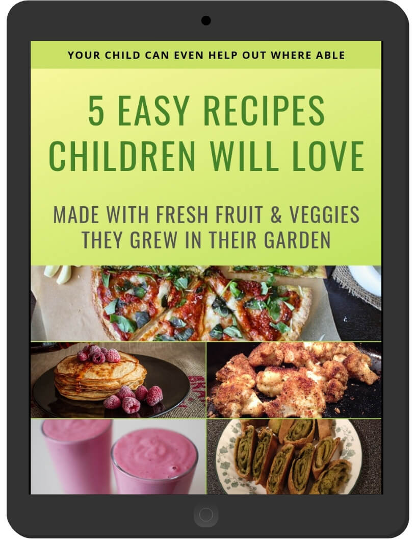 5 Easy Recipes Children Will Love on iPad