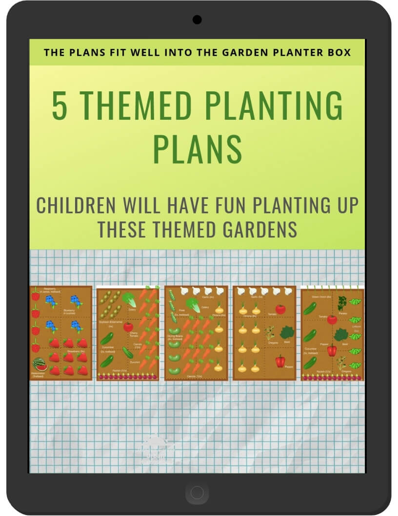 5 Themed Planting Plans on iPad