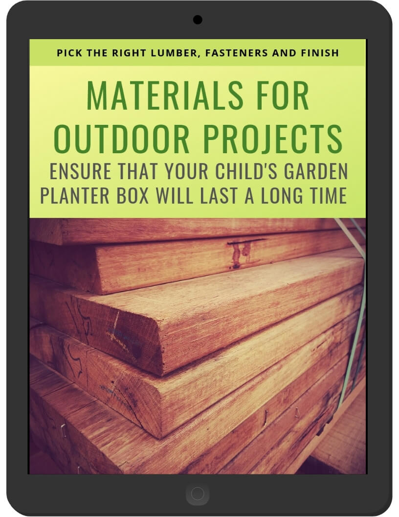 Materials for Outdoor Projects on iPad