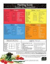 Planting guide for Seeding Square
