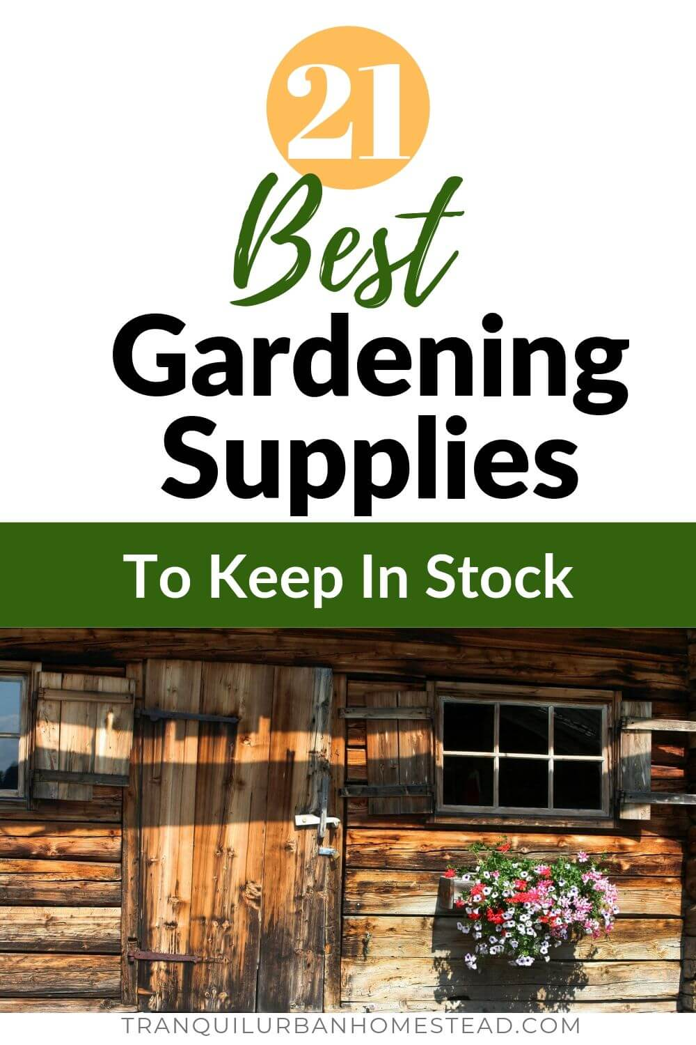 21 best gardening supplies