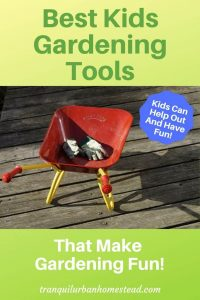 best kids gardening tools