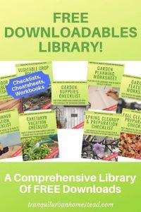 downloadable garden info