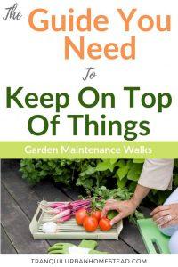 Garden Maintenance Walk