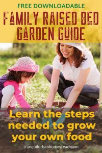Free Family Raised Bed Garden Guide