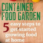 5 Steps to Container Food Garden