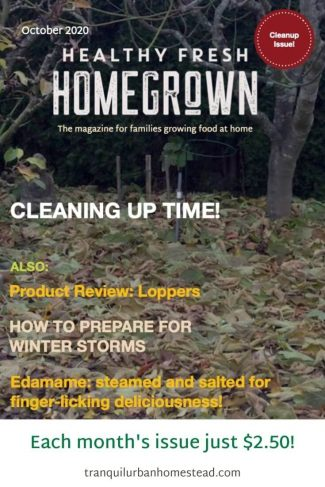 Healthy Fresh Homegrown Magazine